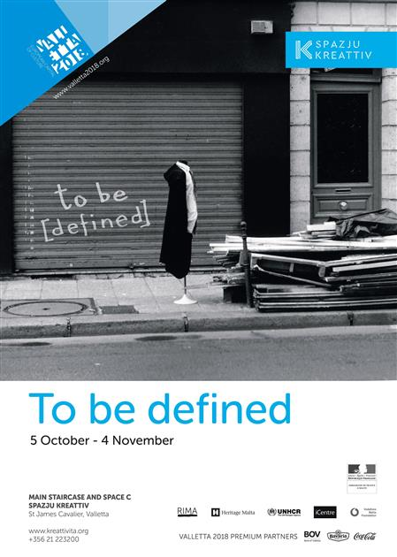 to be [defined]